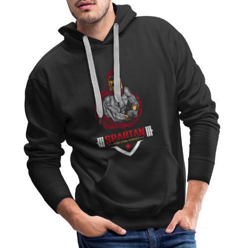 Spartan Workout Ultimatives Fitness T-Shirt - Männer Premium Hoodie