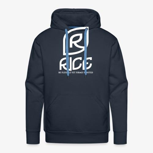 rice vector - Mannen Premium hoodie
