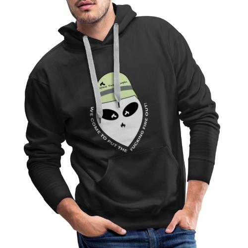 Alien Space Fire Trooper - We come to put the f.. - Männer Premium Hoodie
