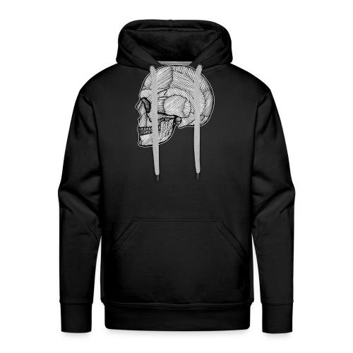 Skull_Lines.png - Männer Premium Hoodie