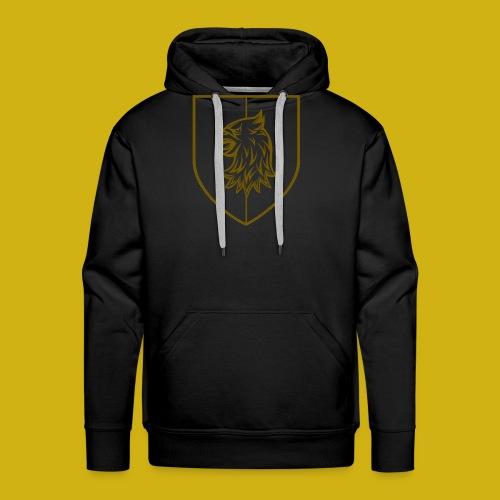 Vartija Crest Outline transparant - Men's Premium Hoodie