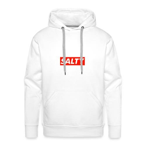 Salty white - Men's Premium Hoodie