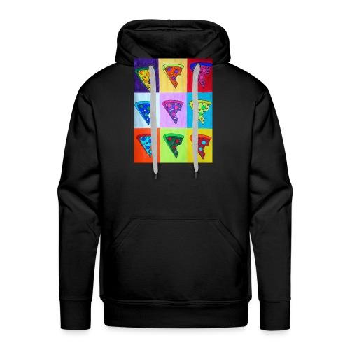 Pizza Warhol - Sweat-shirt à capuche Premium pour hommes