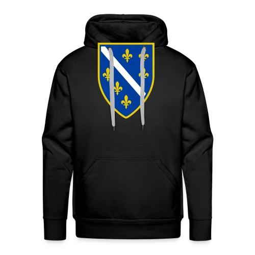 Alt bosnisches Wappen - Männer Premium Hoodie