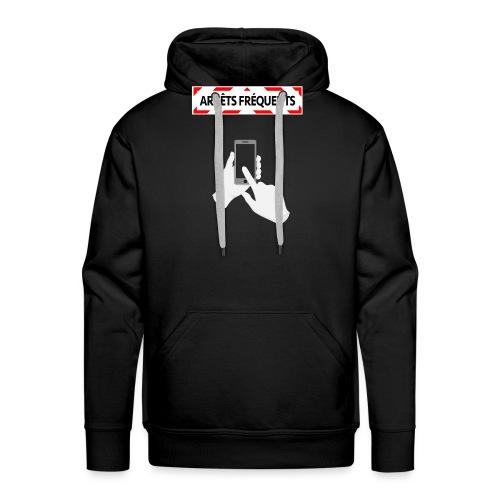Arrêts fréquents - Sweat-shirt à capuche Premium pour hommes