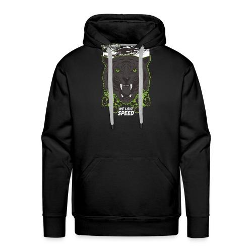 T-Shirt Bear Powershifter - Männer Premium Hoodie