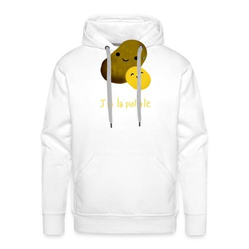 patate png - Sweat-shirt à capuche Premium pour hommes