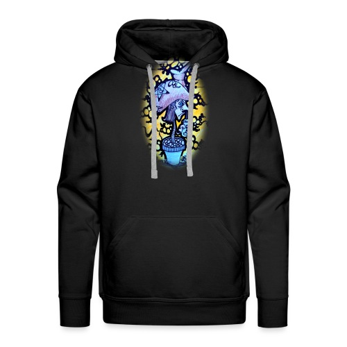 Roots N Spurs Blur - Men's Premium Hoodie