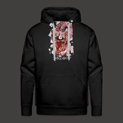 capricorne Négutif - Sweat-shirt à capuche Premium pour hommes