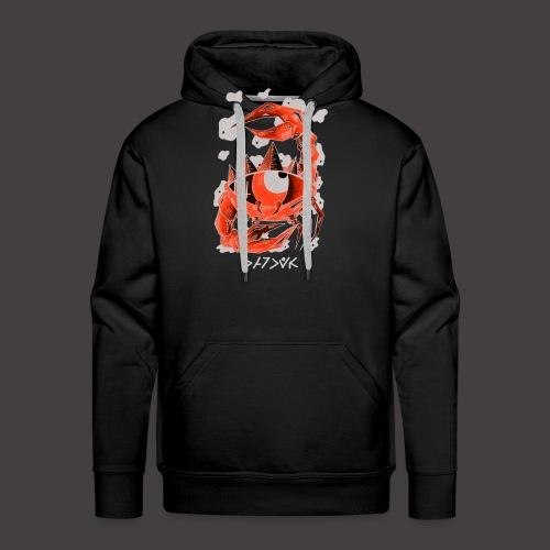 cancer Négutif - Sweat-shirt à capuche Premium pour hommes
