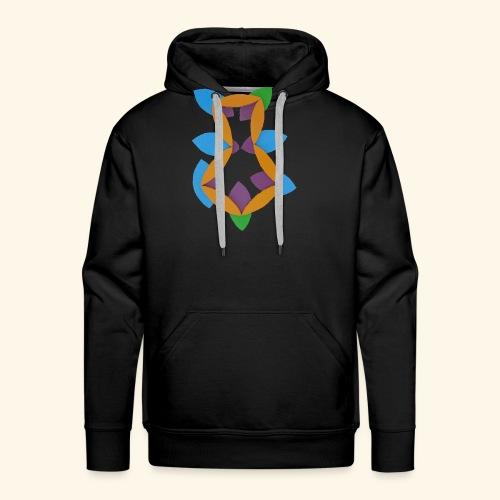 oranjeblanjebleu - Mannen Premium hoodie