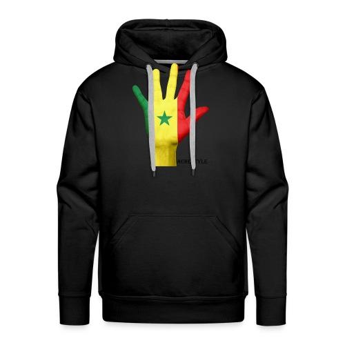senegal - Sweat-shirt à capuche Premium pour hommes