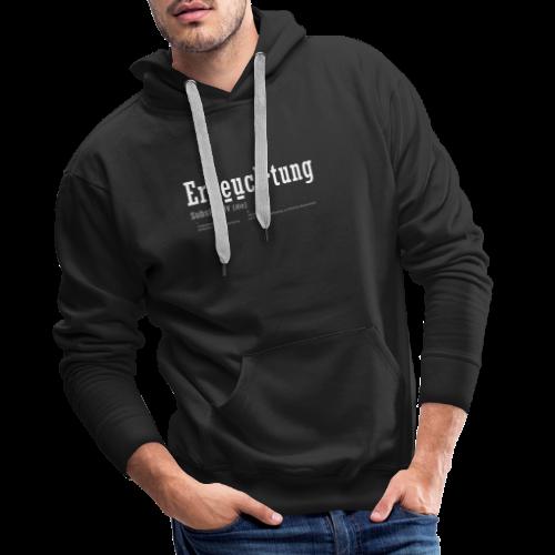 Erleuchtung - Männer Premium Hoodie