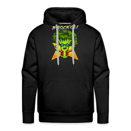 Brockoli das Rockende Brokkoli Geschenk - Männer Premium Hoodie