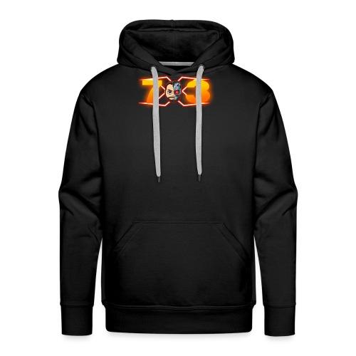 FranX73 logo NEW - Sudadera con capucha premium para hombre