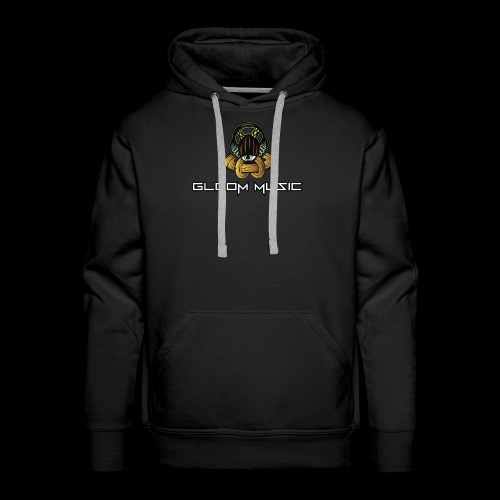 gloOm Music Front And Tree Of Life Back - Men's Premium Hoodie