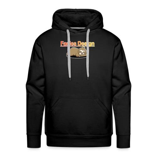 Faules Design - Männer Premium Hoodie