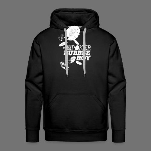 Poker - Bubble Boy (white) - Men's Premium Hoodie