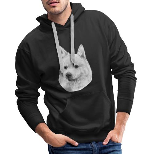 norwegian Buhund - Herre Premium hættetrøje
