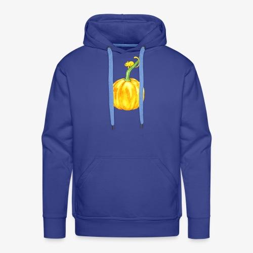 Souris et citrouille - Sweat-shirt à capuche Premium pour hommes