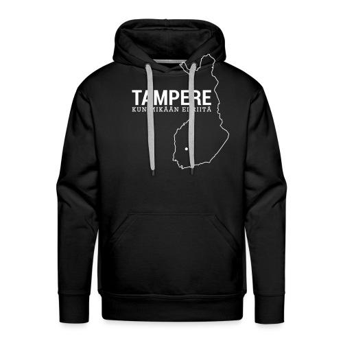 Kotiseutupaita - Tampere - Miesten premium-huppari