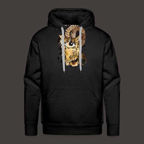 capricorne original - Sweat-shirt à capuche Premium pour hommes