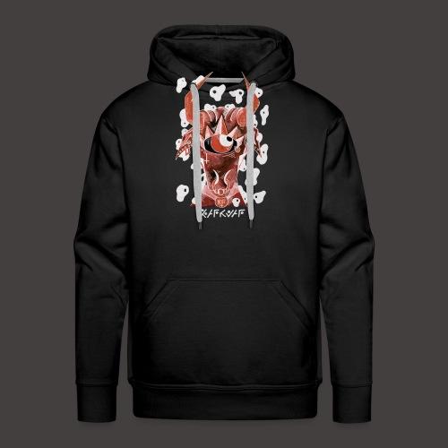 Taureau Négutif - Sweat-shirt à capuche Premium pour hommes