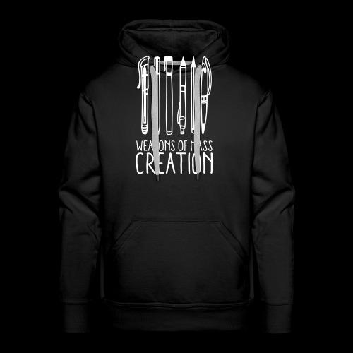Weapons of mass creation (1c) - Sweat-shirt à capuche Premium pour hommes