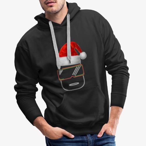 Die Zock Stube - Robot-Head Christmas - Männer Premium Hoodie