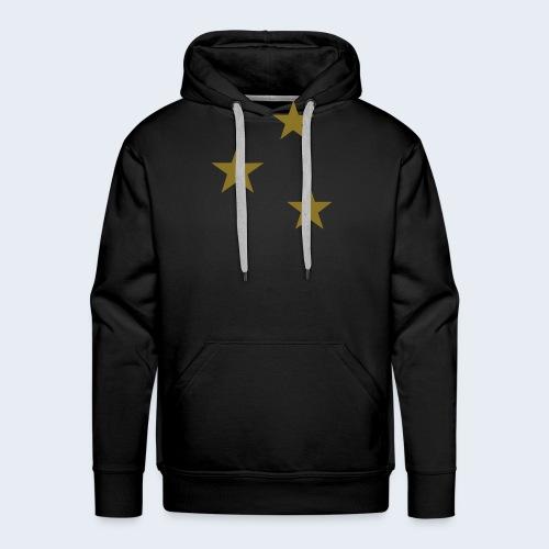 3 Stars - Mannen Premium hoodie