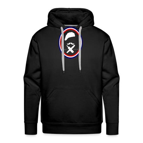 t-shirt gaulois - Sweat-shirt à capuche Premium pour hommes