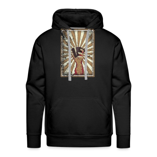 Coffee revolution! - Mannen Premium hoodie