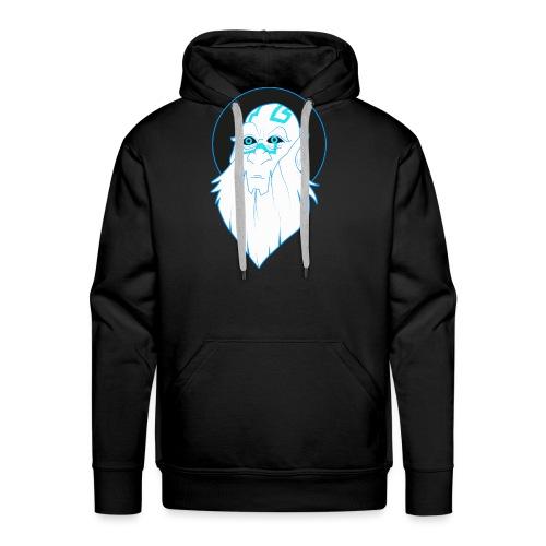 Roi des atlantes - Sweat-shirt à capuche Premium pour hommes