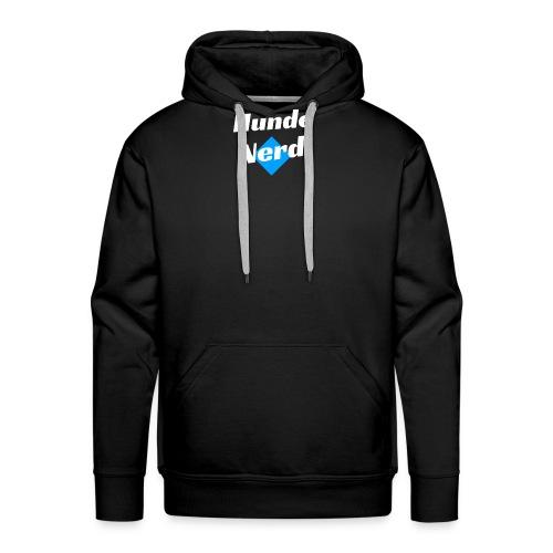 Hunde Nerd T-Shirt Geschenk Idee Hund - Männer Premium Hoodie