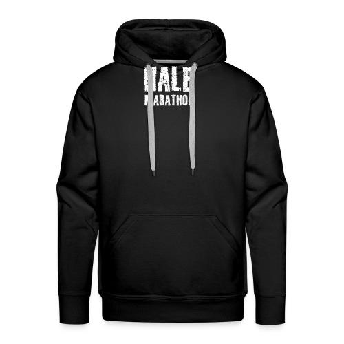 Halb Marathon - Männer Premium Hoodie
