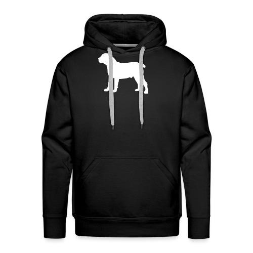 Boerboel siluette_II - Männer Premium Hoodie