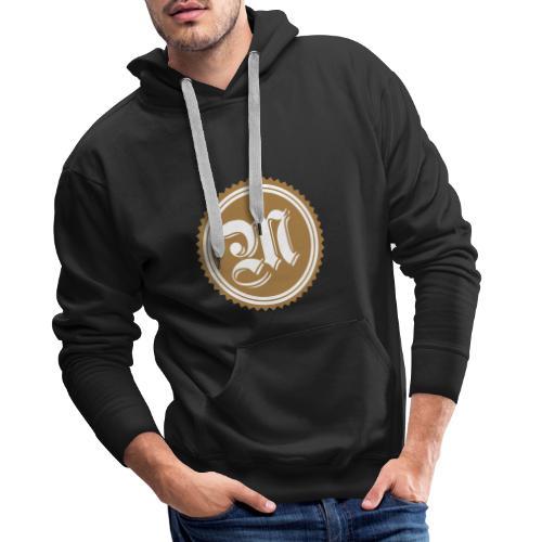 Logo MAP 2 colors - Sweat-shirt à capuche Premium pour hommes