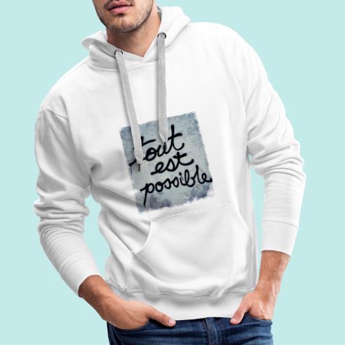 VINTAGE MAI 68 - Sweat-shirt à capuche Premium pour hommes