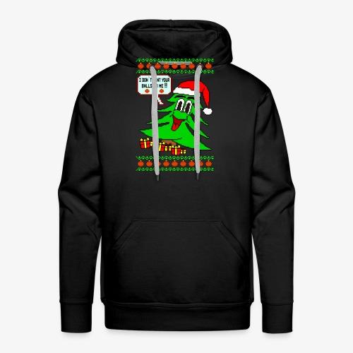 Balls Ugly Christmas - Männer Premium Hoodie