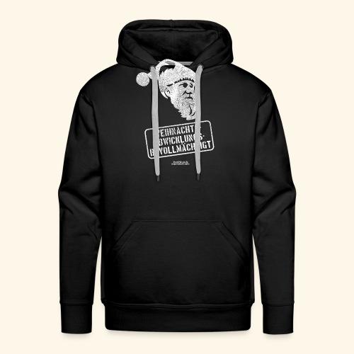 Ugly Christmas Design für Weihnachten - Männer Premium Hoodie