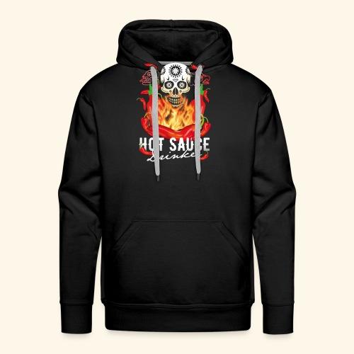 Hot Sauce Drinker Chili T-Shirt - Männer Premium Hoodie