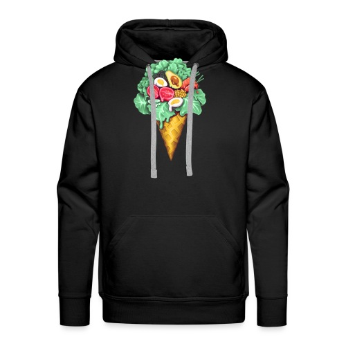 Ice Cream Salad - Men's Premium Hoodie