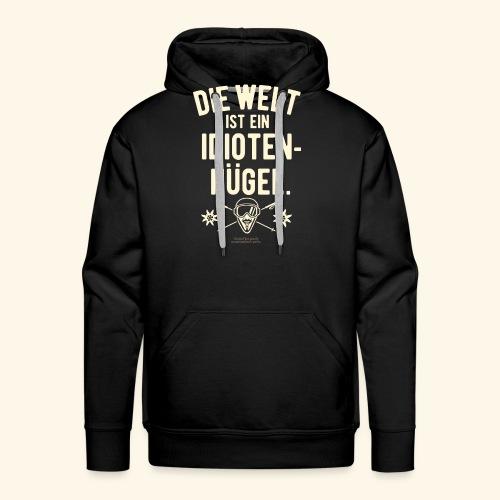 Apres Ski T Shirt Design Idiotenhügel - Männer Premium Hoodie