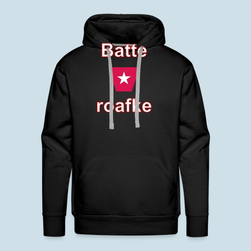 Batteraofke w1 tp vert w - Mannen Premium hoodie