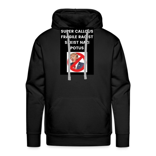 Poppins Against Trump - Men's Premium Hoodie