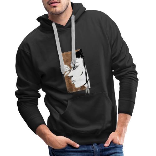Cortette Design - Sweat-shirt à capuche Premium pour hommes
