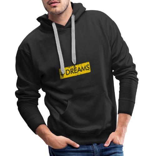 ♦EDITION LIMITE♦ DREAMS - Sweat-shirt à capuche Premium pour hommes