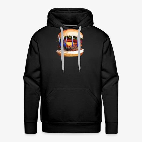 Where's my food - Sweat-shirt à capuche Premium pour hommes