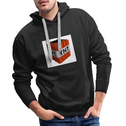 tnt block - Mannen Premium hoodie