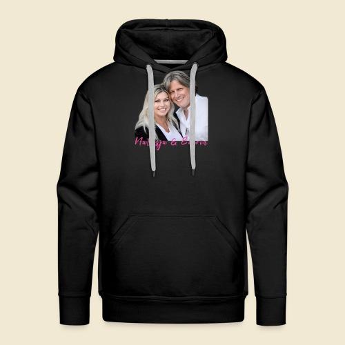 Natasja & Edwin - Mannen Premium hoodie